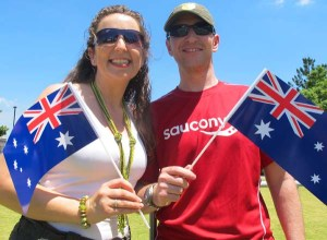 Tracy-and-Lee-Dixon-celebrate-their-fourth-Australia-Day-as-citizens-at-the-Kangaroo-Point-Cliffs--Brisbane