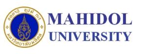 Mahidol University Banner