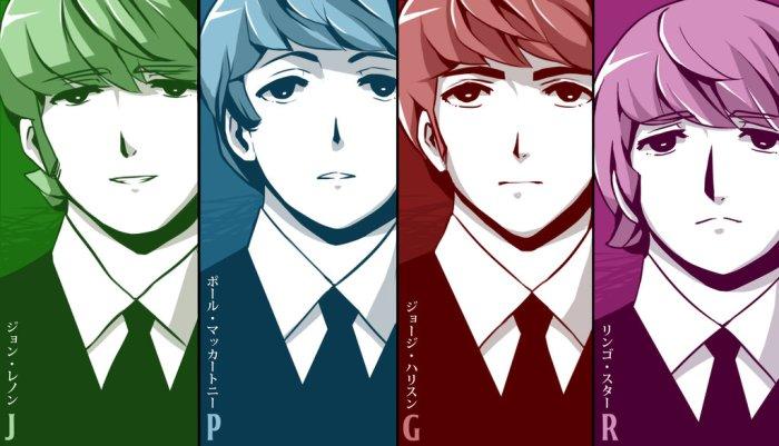 ___colored_manga_fab_four____by_radical_rhombus_xd-d6tobd1