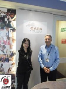 Kepala Sekolah Cats College, Mr. Tim Joseph