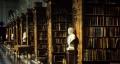 Perpustakaan di Trinity College Cambridge