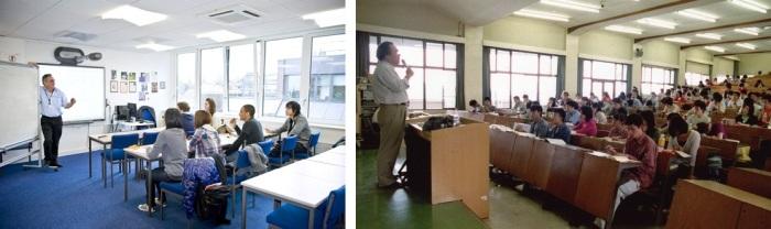 Foundation Classroom Vs University Classroom pada umumnya