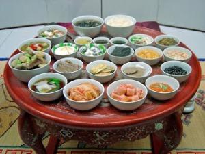 korean table