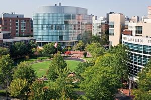 Clark University - Campus & Skyline Fall 2007