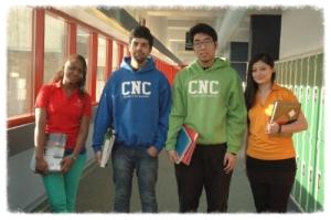 CNC student