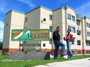 college of the rockies - student housing