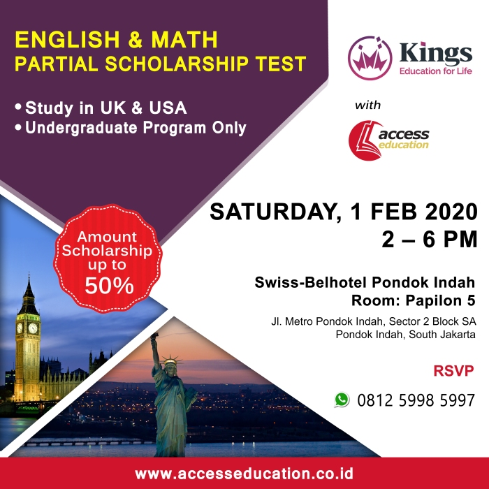 Kings Education 1 Feb 2020 - Website Konsultan Pendidikan