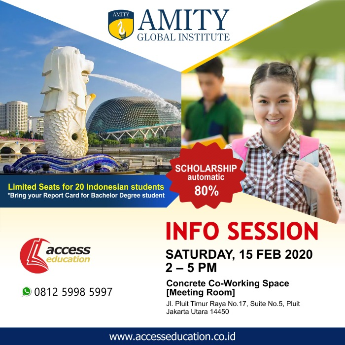Amity Global Institute - 15 Feb 2020 (Website Konsultan)