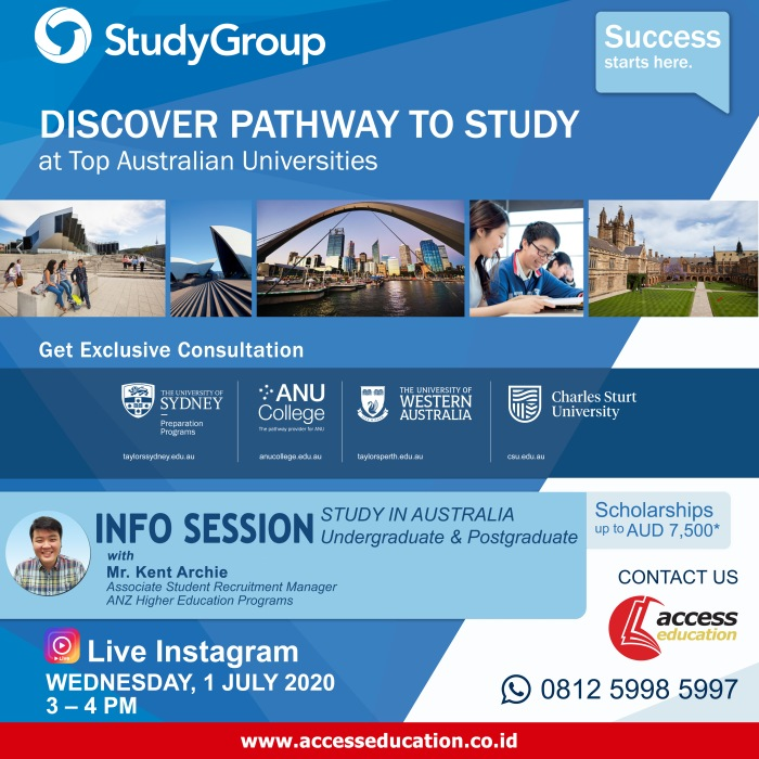 Study Group Australia - 1 Juli 2020 (Website Konsultan)