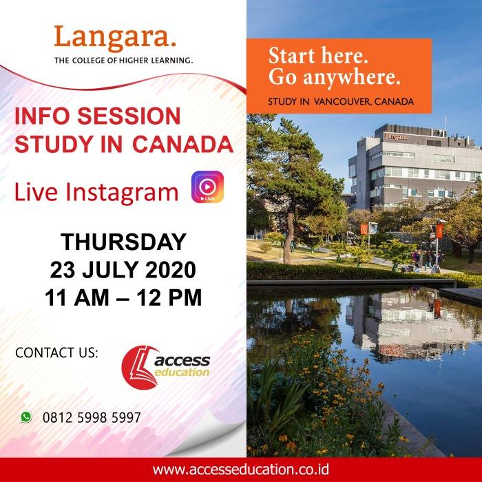 Langara College - 23 Juli 2020 (Website Konsultan)