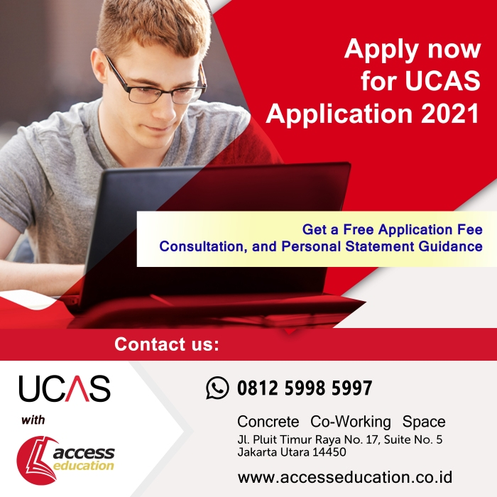 UCAS Application 2021 (Website Konsultan)